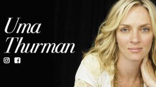 Uma Thurman celebrity influencer