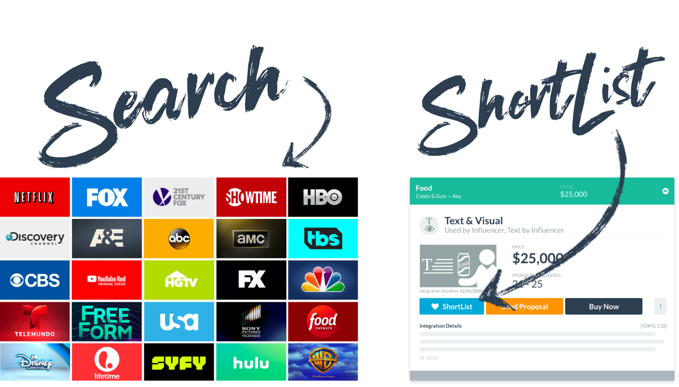 Search TV series
